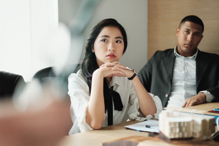 Signs a Shy Female Coworker Likes You